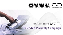 Yamaha Extended Warranty Scheme for M7CL Owners