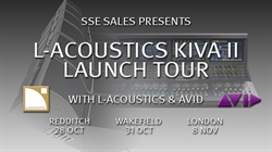 SSE Presents the L-Acoustics  KIVA II Launch Tour