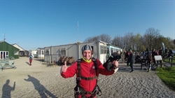 Wigwam's James Mack Completes Skydive for the Christie Hospital