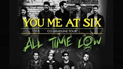 Debut Arena Tour for You Me At Six and All Time Low