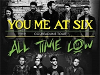 You Me At Six and All Time Low On Tour
