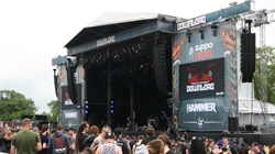 JBL VTX supplied for Download's Second Stage