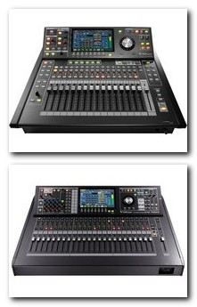 M-300 and M480 digital mixing console
