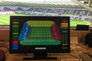 Liberty Stadium Control Room