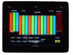 iPad control of lighting systems