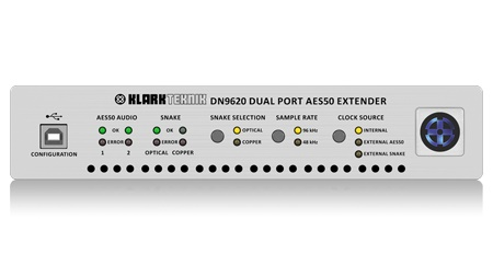 Klark Teknik DN9620 Dual Port AES50 Extender - waves
