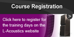 LAcoustics Training Day Registration