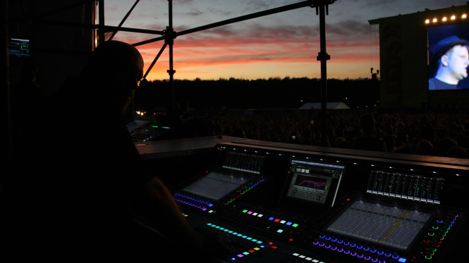 Digico SD5 at Sunset
