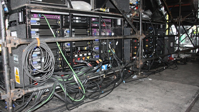 Main PA Amp Racks