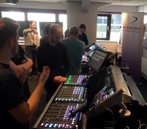 SSE Audio Hosts Solid State Logic Training Sessions