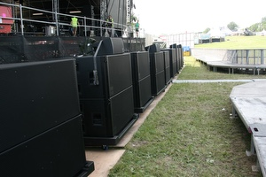 SSE Hire use d&b GSL for Second Stage at Download 2018