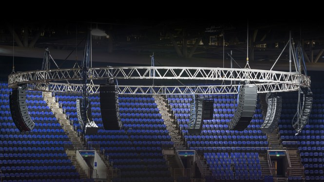 SSE Upgrades The O2 with Bose Showmatch and QSC Q-Sys