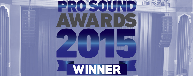 Pro Sound Awards Winner 2015