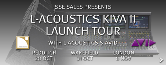 L-Acoustics KIVA II Launch Tour