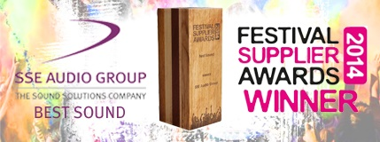 Festival Supplier Awards 2014 - Best Sound