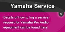 Yamaha Service Request