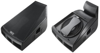 NEXO�s 45� N-12 monitor loudspeaker made its debut at PLASA.  It's not just a new product but a radical new concept in stage sound � that of line monitoring.