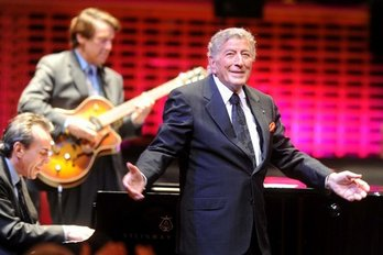 Tony Bennett has recently completed his latest UK tour with Canegreen