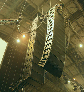 We're currently offering for sale a complete Meyer Sound MILO package and an L'Acoustics KUDO line array.
