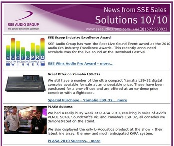 View our recent E-Newsletter here or sign up to future editions.