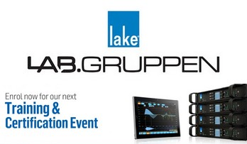 Lab.gruppen and Lake are holding their  next UK training days at SSE Audio Group in Redditch on 31st July and 1st August.
