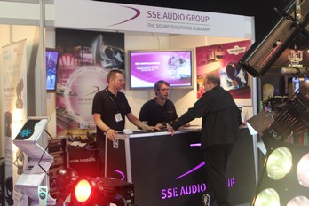 SSE Audio Group received plenty of enquiries from this year's exhibition.