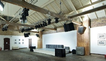 SSE London has installed an extensive sound system at Proud Galleries new base in Camden Market.