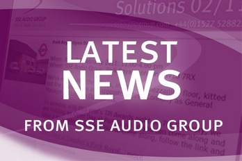 Catch up with the latest news from SSE Audio Group.
