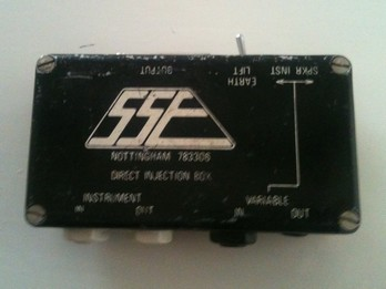 This DI box was made and supplied by SSE in circa 1980...