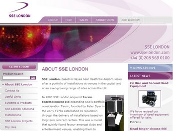 A new section has been added to the SSE website for SSE London.